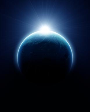 earth-with-rising-sun