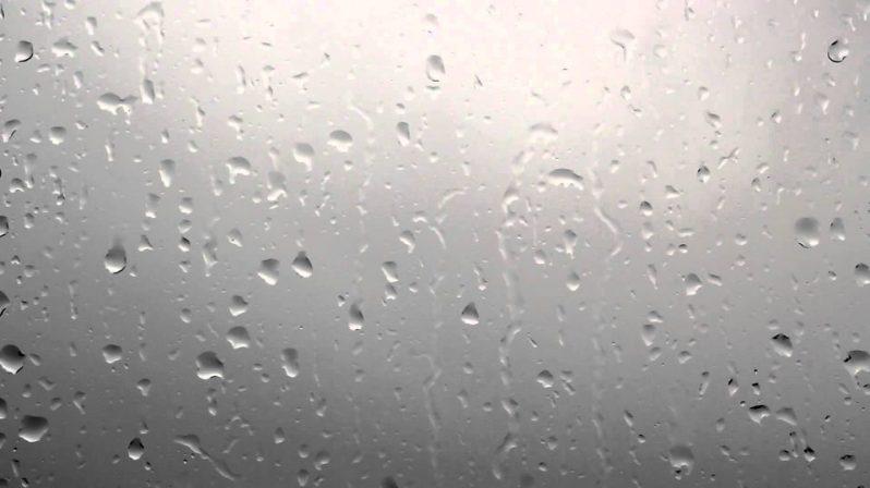 gray, rainy windo